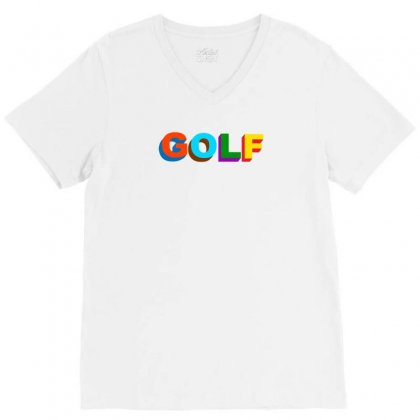 Golf Wang V-neck Tee Designed By Butterfly99