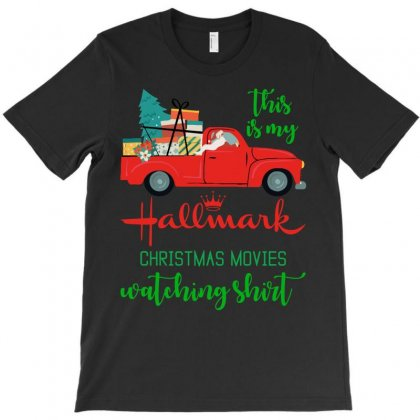 This Is My Hallmark Christmas Movie Watching1 T-shirt Designed By Amber Petty