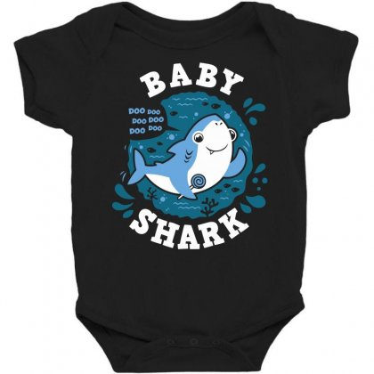 Baby Shark Boy Baby Bodysuit