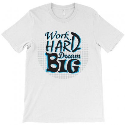 Workhard 01 T-shirt Designed By Hamza Elb