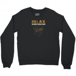 bass player Crewneck Sweatshirt | Artistshot