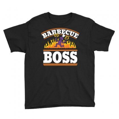 Barbecue Boss Youth Tee Designed By Arsyad