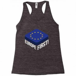 europe first Racerback Tank | Artistshot