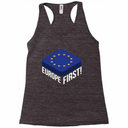 Europe First Racerback Tank Designed By Wizarts