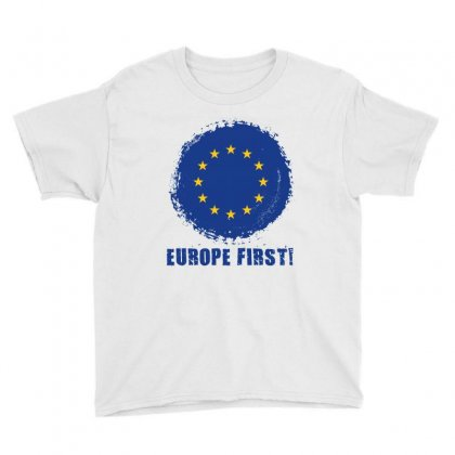 Europe First Youth Tee Designed By Wizarts