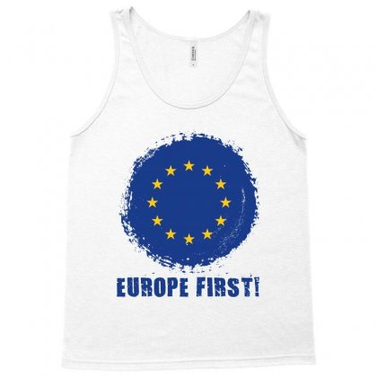 Europe First Tank Top Designed By Wizarts