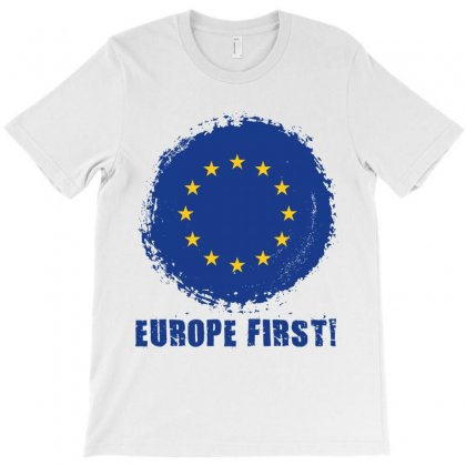 Europe First T-shirt Designed By Wizarts
