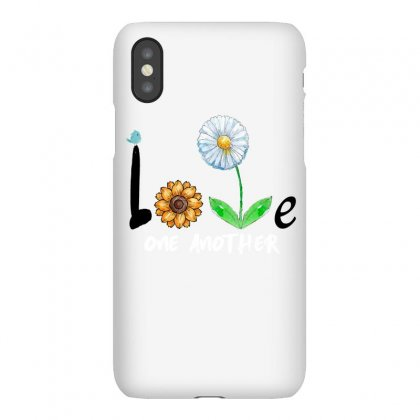 Love One Another Flower Iphonex Case Designed By Omer Acar