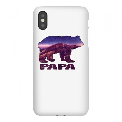 Papa Bear Montain Iphonex Case Designed By Omer Acar