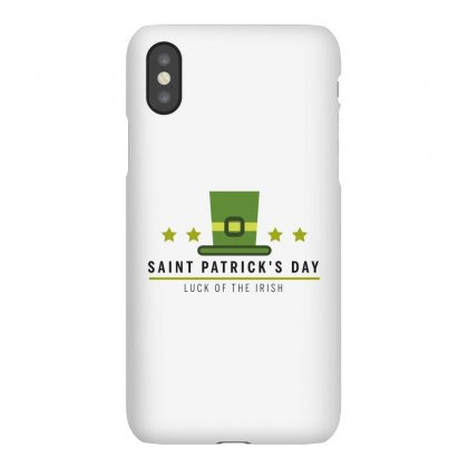 Saint Patrick's Day Iphonex Case Designed By Estore