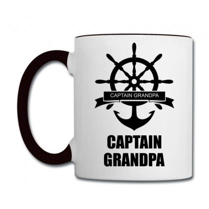 Captain Grandpa Coffee Mug Designed By Sabriacar