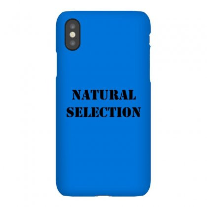 Natural Selection Black Iphonex Case Designed By Butterfly99