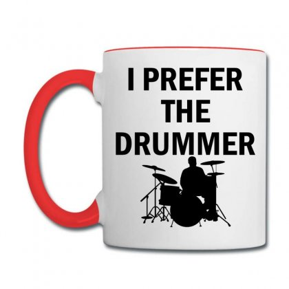 I Prefer The Drummer Coffee Mug Designed By Sabriacar