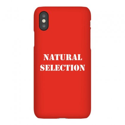 Natural Selection White Iphonex Case Designed By Butterfly99