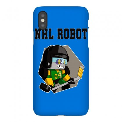 Nhl Robot Iphonex Case Designed By Butterfly99