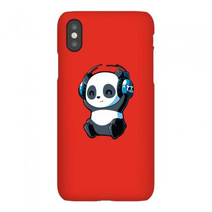 Panda Playlist Iphonex Case Designed By Butterfly99