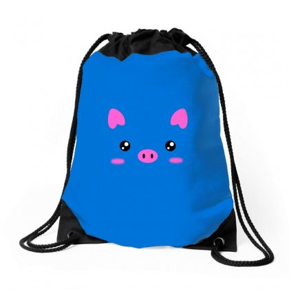 Pig Drawstring Bags Designed By Butterfly99