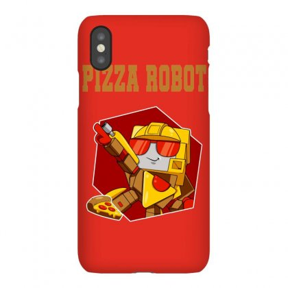 Pizza Robot Iphonex Case Designed By Butterfly99
