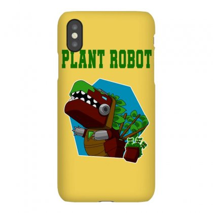 Plant Robot Iphonex Case Designed By Butterfly99