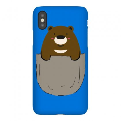 Pocket Bear Iphonex Case Designed By Butterfly99