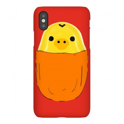 Pocket Rilakkuma Kiiroitori San Iphonex Case Designed By Butterfly99