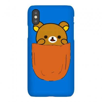 Pocket Rilakkuma Rila Head Iphonex Case Designed By Butterfly99