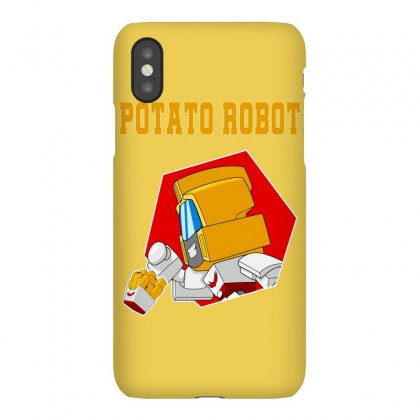 Potato Robot Iphonex Case Designed By Butterfly99