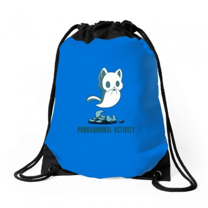 Purranormal Activity Drawstring Bags Designed By Butterfly99