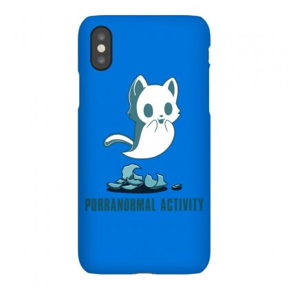 Purranormal Activity Iphonex Case Designed By Butterfly99