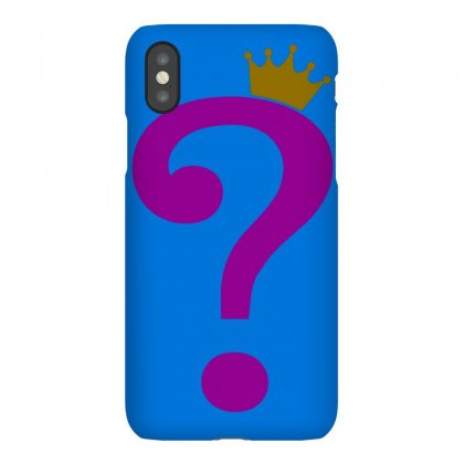 Riddle Me This King Iphonex Case Designed By Butterfly99