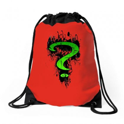 Riddle Me This Drawstring Bags Designed By Butterfly99