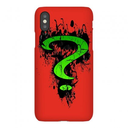 Riddle Me This Iphonex Case Designed By Butterfly99