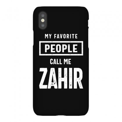 Gift For Zahir First Name T-shirt Iphonex Case Designed By Cidolopez