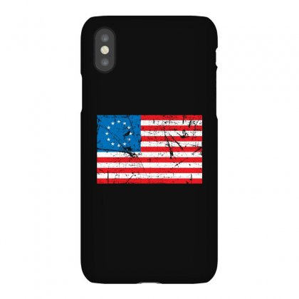 Vintage Betsy Ross Flag Iphonex Case Designed By Bpn Inside