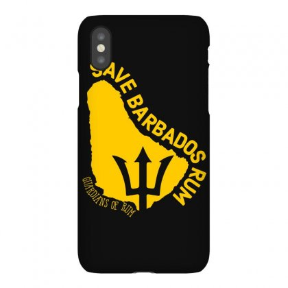 The Save Barbados Rum Iphonex Case Designed By Animestars