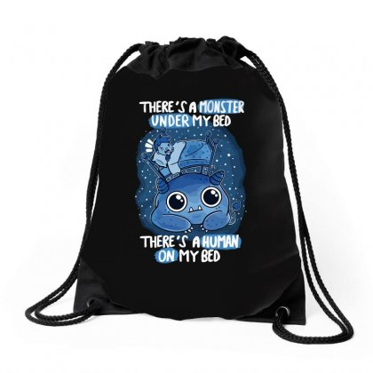 Bed Fear Drawstring Bags Designed By Arsyad