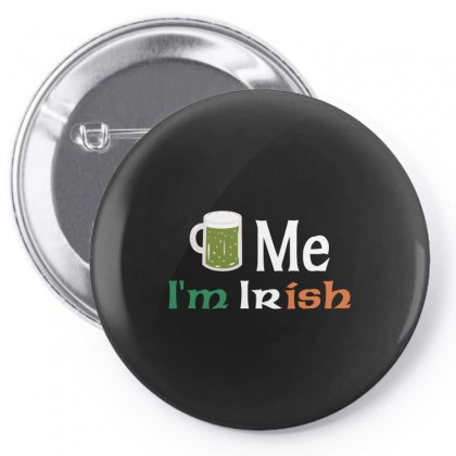 Beer Me I'm Irish Pin-back Button Designed By Arsyad