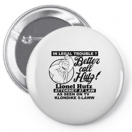 Better Call The Lawyer Seen On Tv Pin-back Button Designed By Arsyad