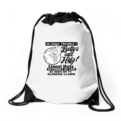 Better Call The Lawyer Seen On Tv Drawstring Bags Designed By Arsyad