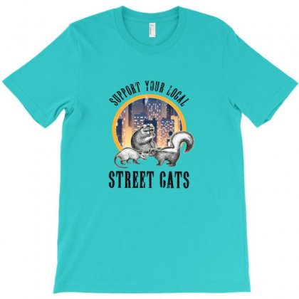 Street Cats T-shirt Designed By Ahmadjufriyanto