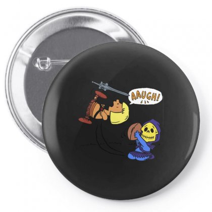 Blockheads Of The Universe Pin-back Button Designed By Arsyad