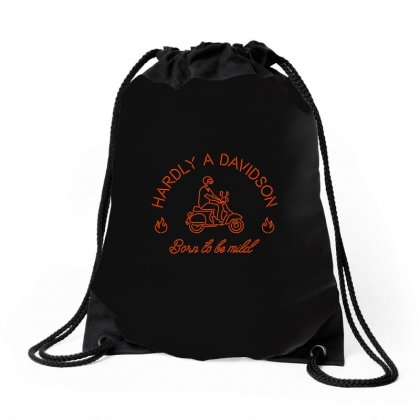 Born To Be Mild Drawstring Bags Designed By Arsyad