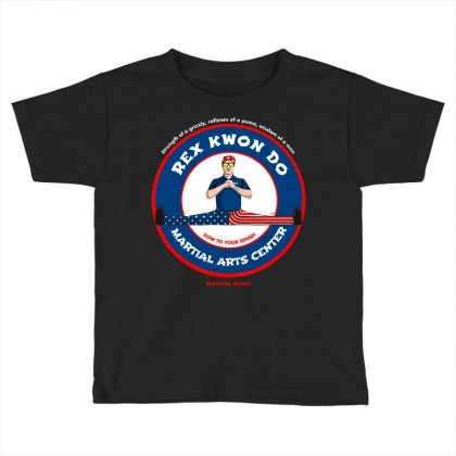 Bow To Your Sensei Martial Arts Center Toddler T-shirt Designed By Arsyad