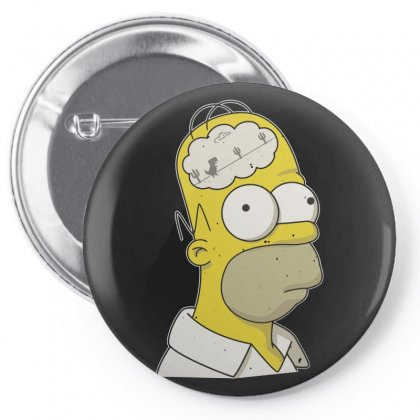Brain Disconected Pin-back Button Designed By Arsyad