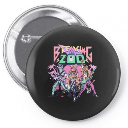 Breaking The Zoo! Pin-back Button Designed By Arsyad