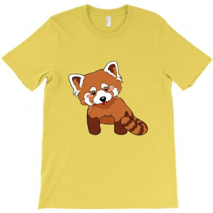 Red Panda T-shirt Designed By Ahmadjufriyanto