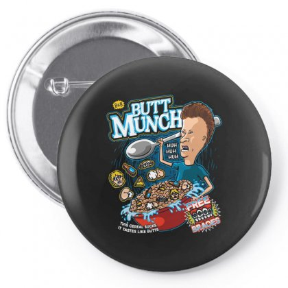 Butt Munch Cereal Pin-back Button Designed By Arsyad