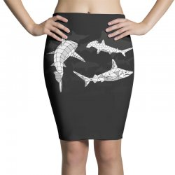 sharks Pencil Skirts | Artistshot