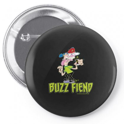Buzz Fiend Pin-back Button Designed By Arsyad