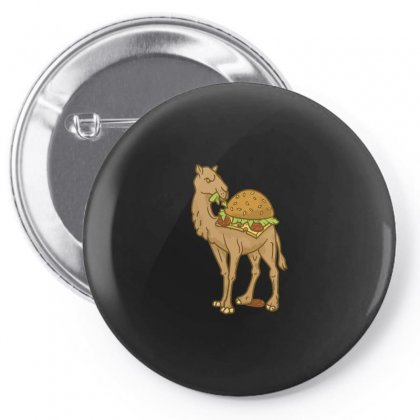 Camel & Burger Pin-back Button Designed By Arsyad